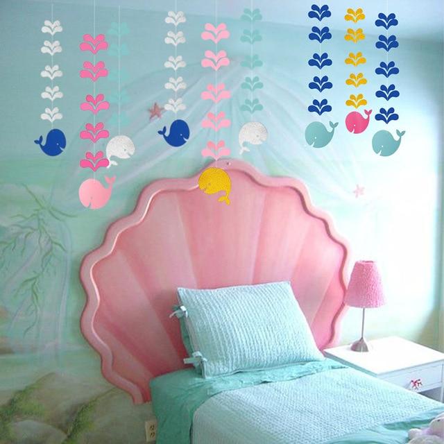 Smiling Whale Decorative Garlands 3 Pcs Set 4