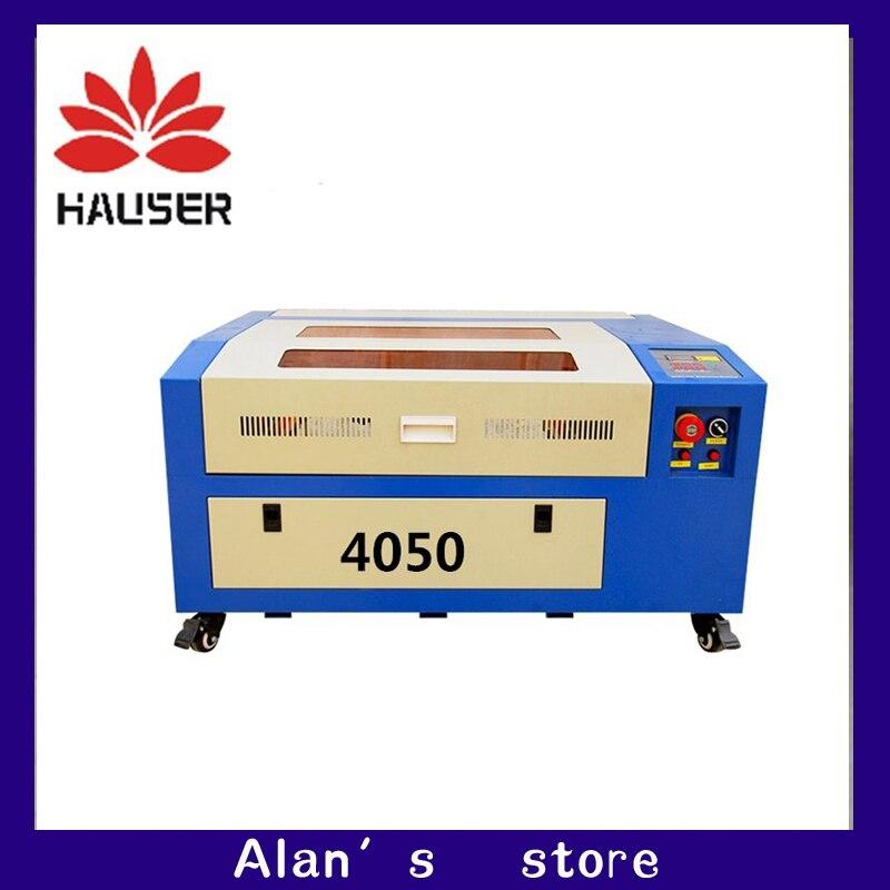 Freeshipping macchina per incisione laser Co2 cnc laser, 5040 incisione macchina di taglio laser CO2 macchina per marcatura laser