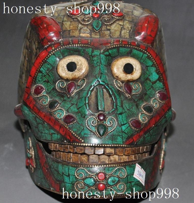 Statue, Skeleton, Inlay, Old, Head, Shell