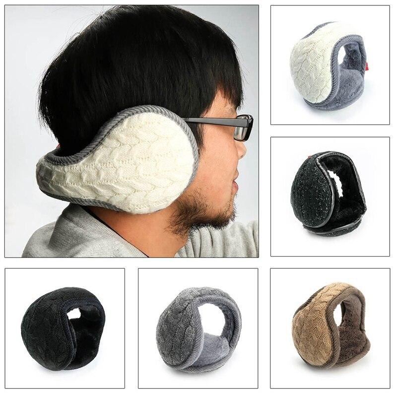 Fashion Foldable Unisex Knitted EarMuffs