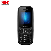 Новый lingwin N1 Особенности телефон 1.77 дюймов 32 МБ + 32 МБ SC6513DA Dual SIM + 1 слот для карт 600 мАч Фонарик Bluetooth пожилых мобильного телефона