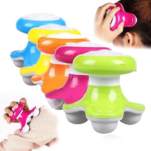 Multi-color Mini Electric Handled Wave Vibrating Massager Electric Handled Battery USB Full Body Massage Full Body Massage