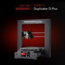 NEW 2019 I3 Plus MARK II 3D printer WANHAO Fast shipment from the factory Low price