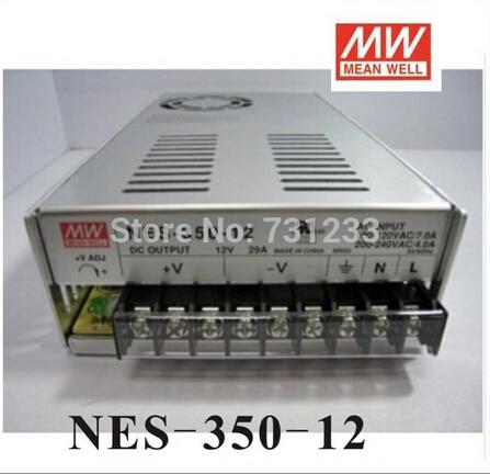 2pcs/lot Switching Power Supply 350W 12V 29A Single Output NES-350-12 for Embroidery Engraver Printer Plasma CNC Router Kits 20pcs 350w 12v 29a power supply 12v 29a 350w ac dc 100 240v s 350 12 dc12v