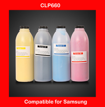 compatible for samsung clp660 refill color toner powder high quality color powder refill cartridge free shipping DHL