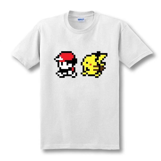 Pokemon Ash And Pikachu T Shirts