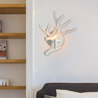 Nordic Antler Lamps led Vanity Light Restaurant Modern Wall Lamp Wall Sconce Lighting For Living Room Wall Lights Bedroom lamp