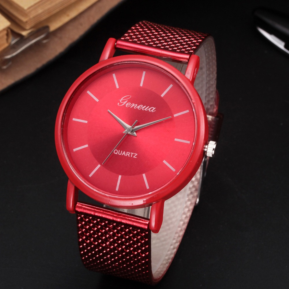 Business Watch 2019 Wrist Watch Men Simple Style Mesh Belt Men Women Unisex Quartz Watches Relogio Masculino #tt