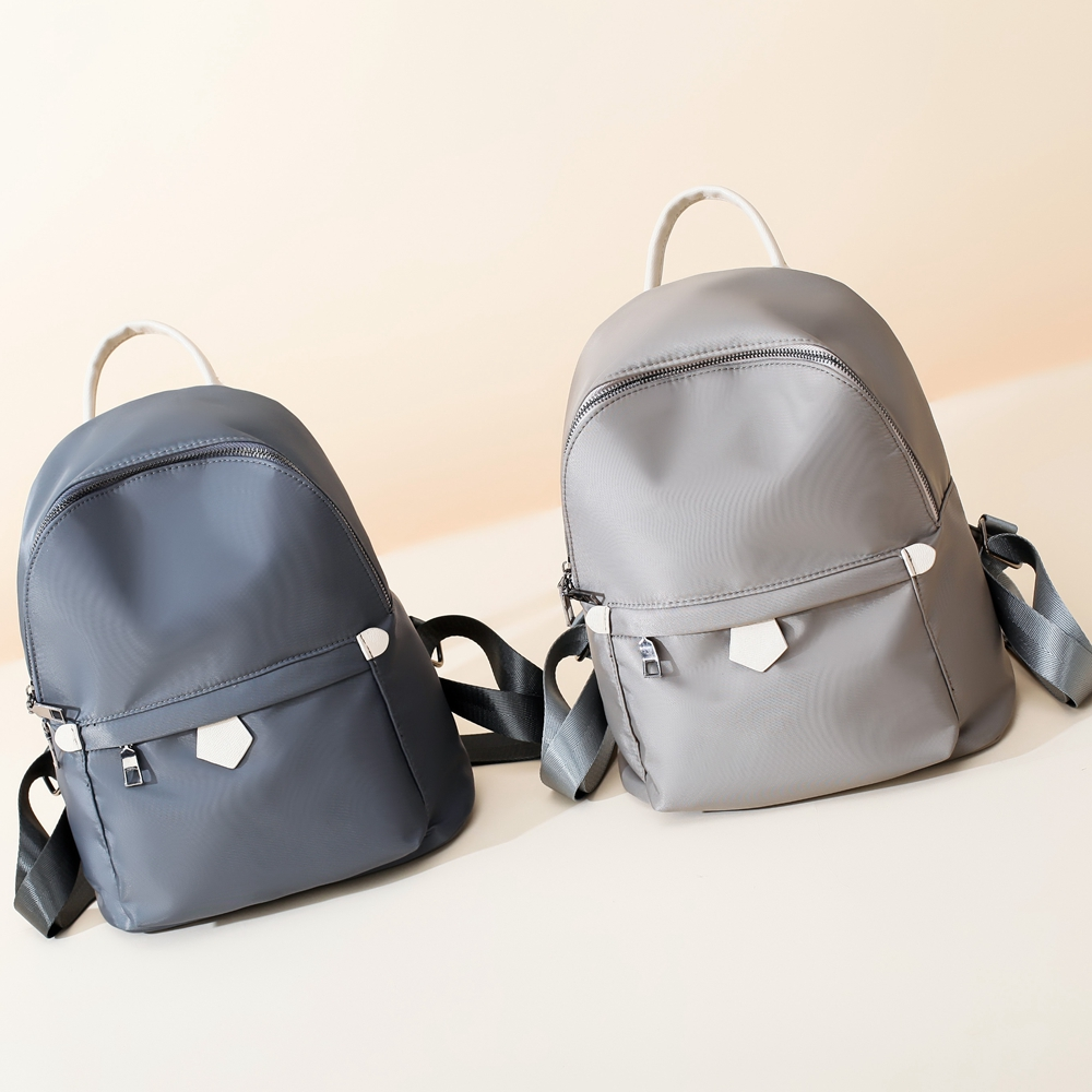 78ad7ca76d16 Waterproof Small Nylon Backpack For Women 2018 School Bagpack Teenage Girls  Fabric Bag Casual Travel Rucksack backbag Female-in Backpacks from Luggage  ...