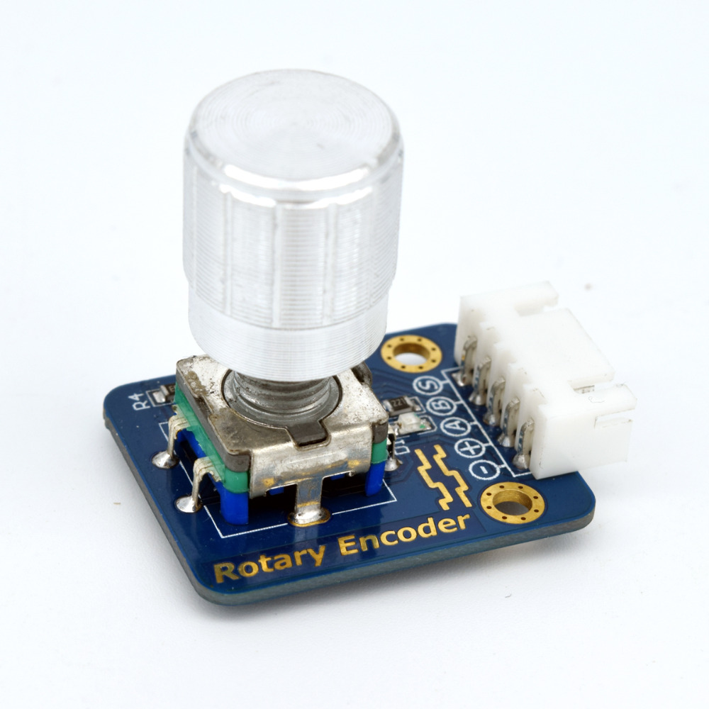 Adeept New Rotary Encoder Module 360 Degree Rotation for Arduino Raspberry Pi ARM AVR DSP PIC Freeshipping headphones diy diykit adeept diy electric new project lcd1602 starter kit for arduino uno r3 mega 2560 pdf free shipping book headphones diy diykit