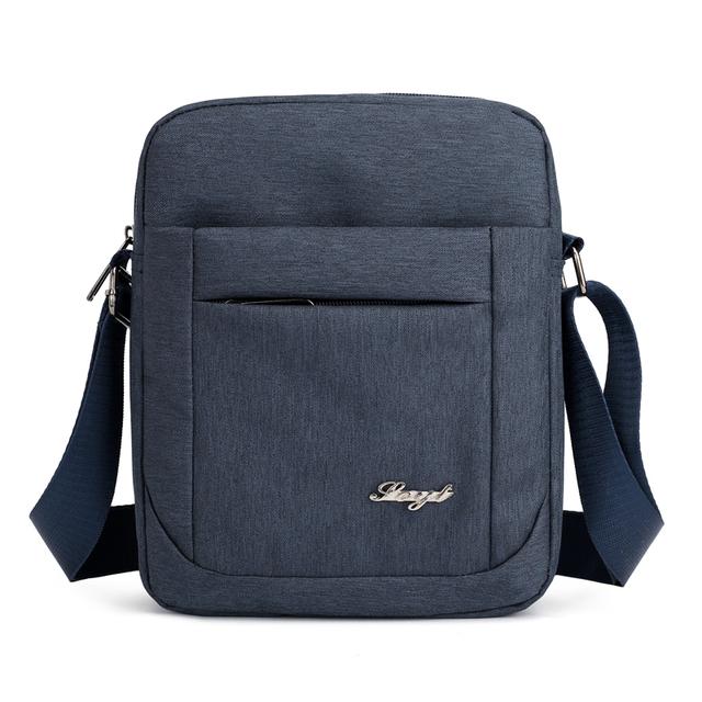 Solid Flap College style Shoulder Bag