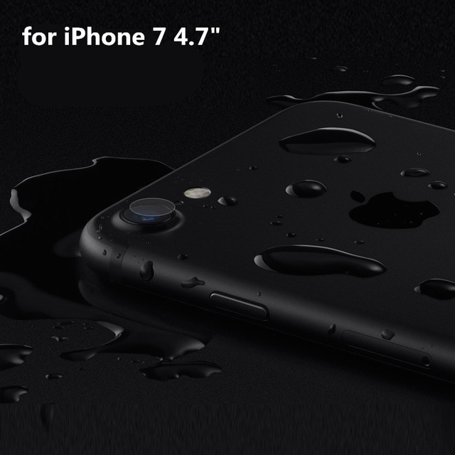 Tempered Glass Camera Lens Protective Film for Iphone 7 / 7 Plus Lens Coque Protector