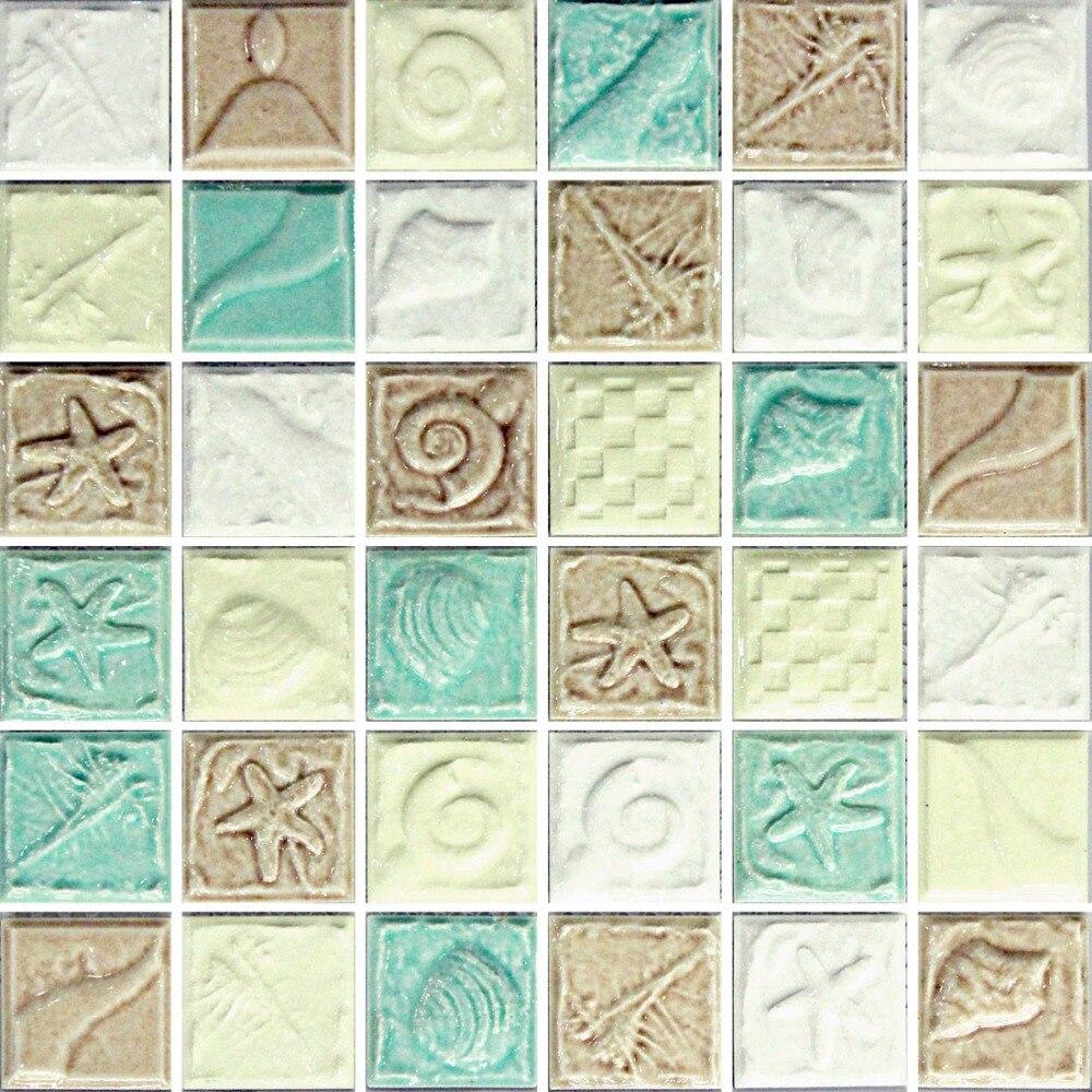 Classic Ceramic Mosaic Font B