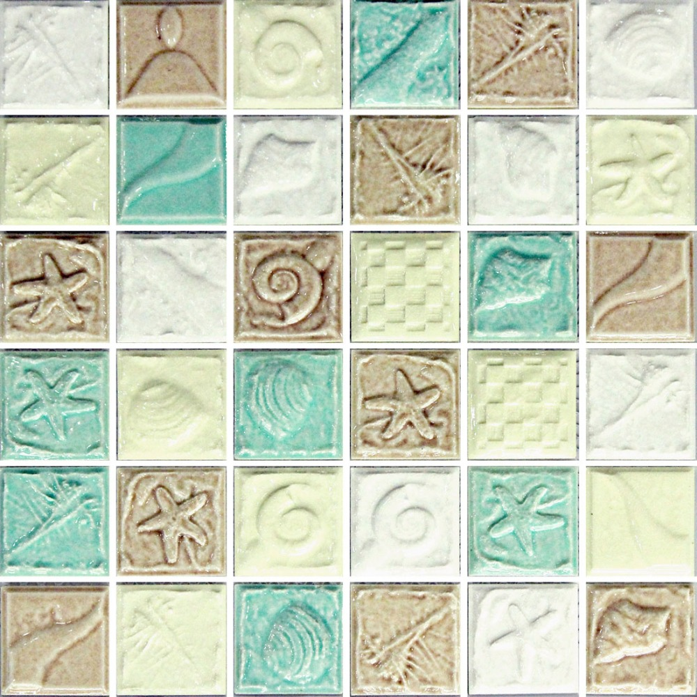 classic ceramic mosaic tile kitchen backsplash tile