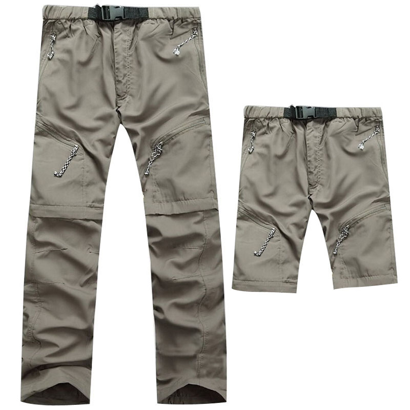 KD Breathable Quick Dry Removable Thin Trousers For Men Outdoor Sport Trekking font b Hiking b