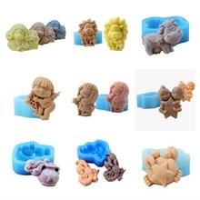 Силиконовая форма для мыла, 12 созвездий, формы для шоколадных конфет, украшение торта мастикой, набор для мыловарения