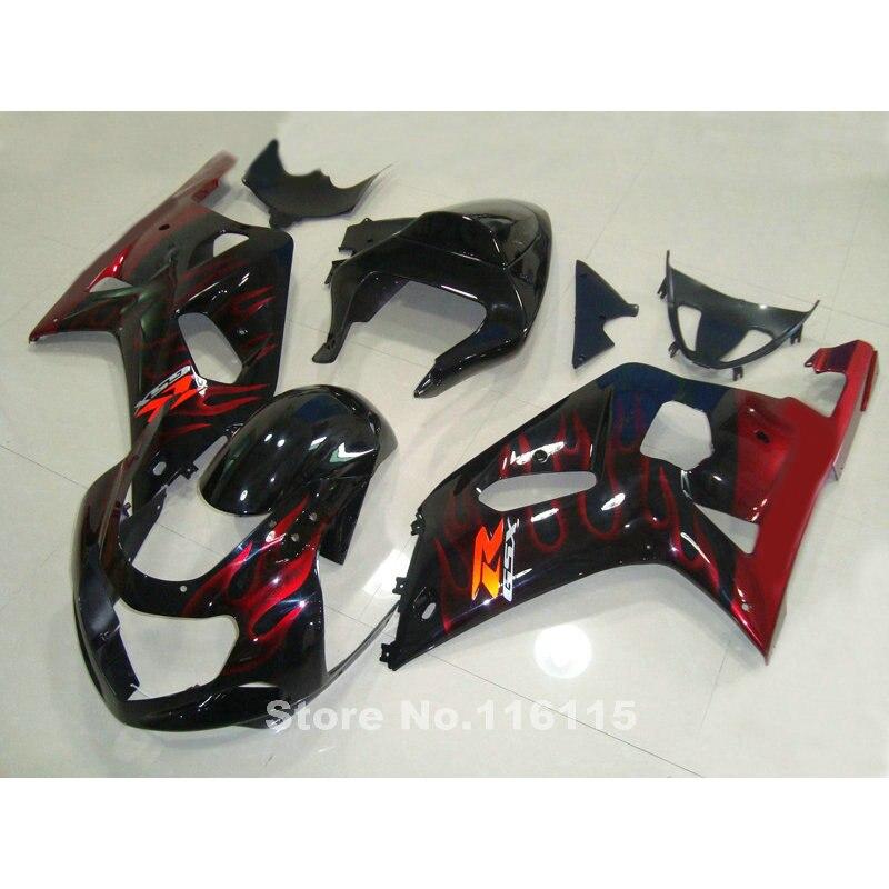 New aftermarket parts for SUZUKI GSXR600 750 fairings K1 K2