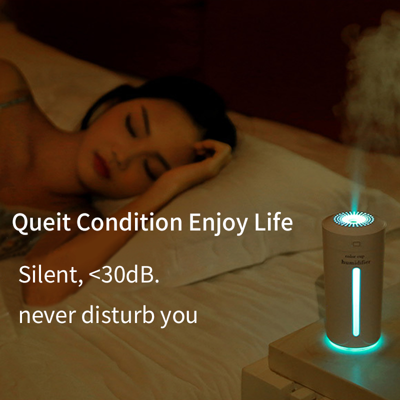 OUSU Gadgets Cool USB LED Light USB 7 Colors Night Light 230ml Aroma Essential Oil Diffuser Home Car Ultrasonic Air Humidifier in USB Gadgets from Computer Office