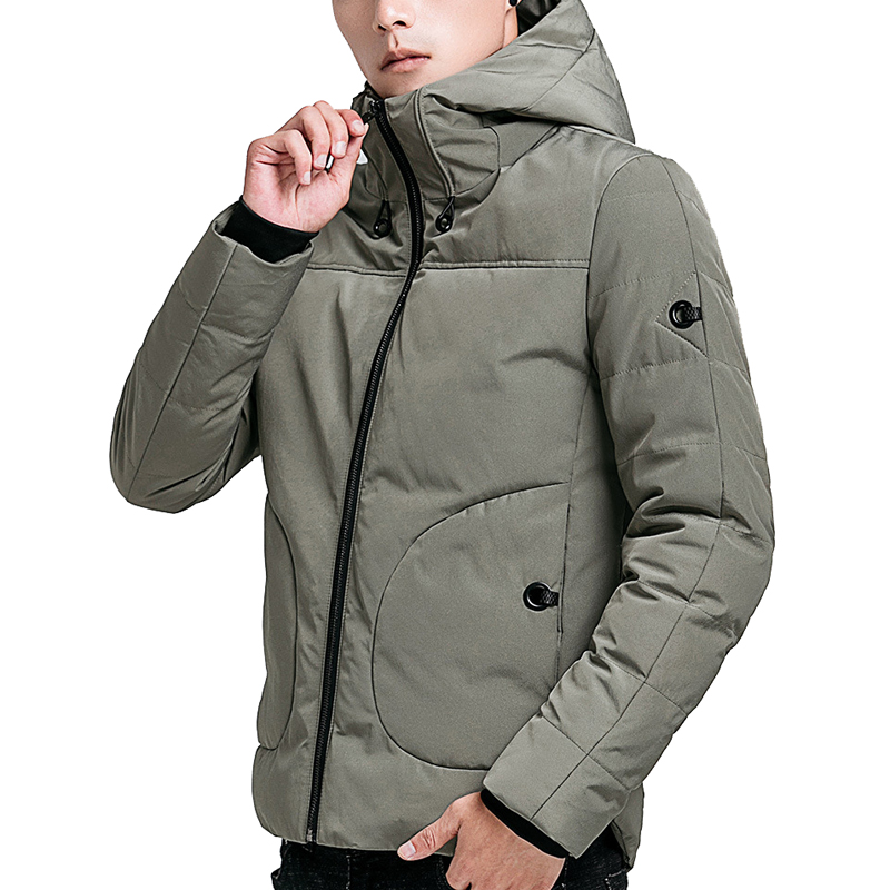 drop shipping men winter jackets and coats casual men's   parkas   cotton padded outwer overcoat NXP24