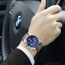 2016 New Luxury Watch Brand GUANQIN Quartz Watch Men Steel Fashion Clock Male Waterproof Watches With Complete Calendar