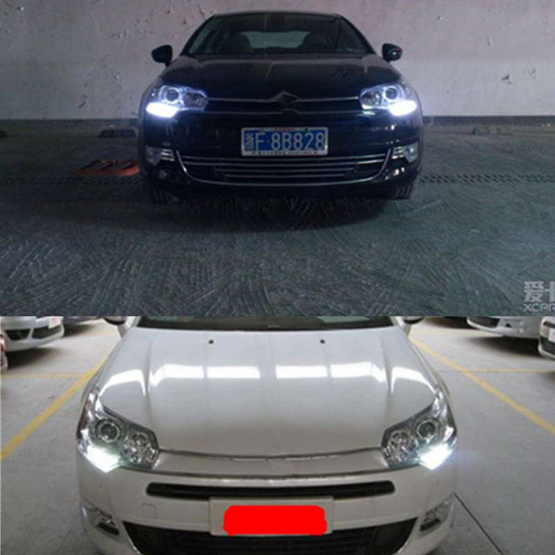NightLord 2pcs Drl Light G4 Hp24w 32 4014 12V G4 Led Bulbs Daytime Running Lights For
