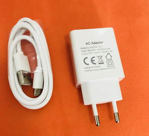 Image 1 - Originele Snelle 2.0A Travel Charger Eu Plug Adapter + Usb Kabel Voor Oukitel K7 MT6750T Gratis Verzending