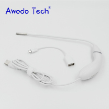 AwadaTech waterproof ear nose Camera USB Intraoral camera 6 led Medical otoscopio borescope For Android device & For PC