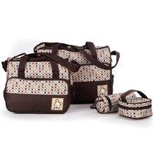 Multifunctional 4 Pieces Diaper Bag