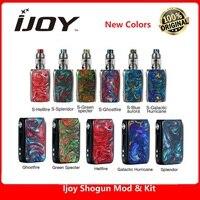 New Original IJOY Shogun Univ 180W TC Kit with Shogun Univ MOD & 5.5ml Katana Tank no 18650 battery box mod vape kit vs Luxe kit