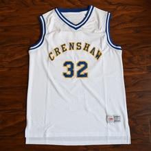 59a63addb527 MM MASMIG Monica Wright 32 Crenshaw High School Basketball Jersey Stitched White  Love