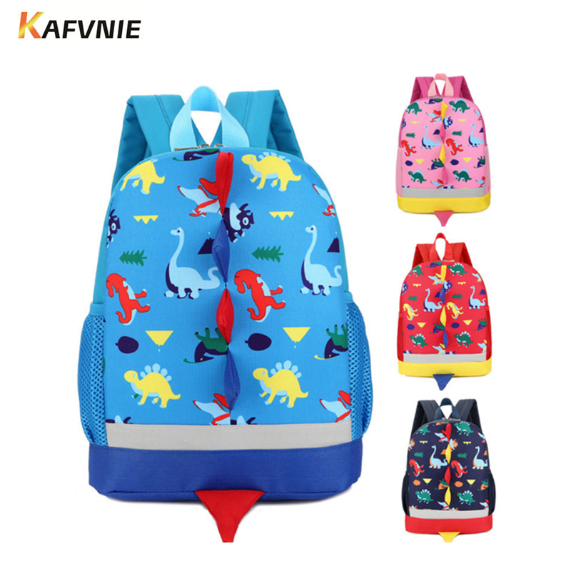 2017 3D Cute Animal Design Backpack Kids School Bags For Girls Boys Dinosaur Cartoon Shaped Children Backpacks