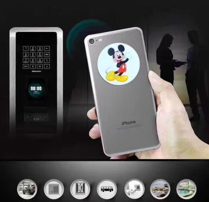 (3 Teile/los) Em4305 T5577 Uid Rfid Beschreibbaren Aufkleber Tag Label 125 Khz 13,56 Mhz Anti Metall Karten Wiederbeschreibbare Kopie Für Handy Letzter Stil