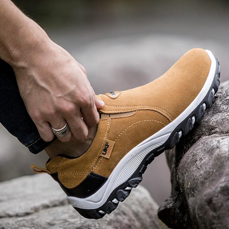 Мужская повседневная обувь, дышащая дизайнерская обувь высокого качества для занятий спортом на открытом воздухе, модная Роскошная обувь д...