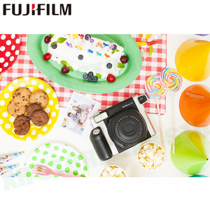 Image 5 - 20 filmler Fujifilm Instax Geniş Anında Beyaz Kenar Fuji Kamera 100 200 210 300 500AF Lomography fotoğraf