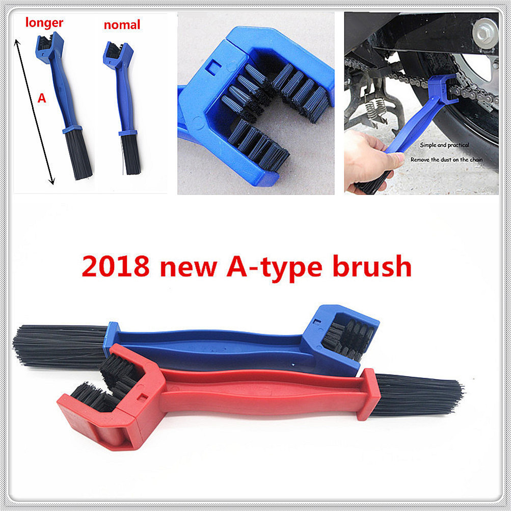 2018 New Motorcycle Chain Brush Cleaner Scrubber For Yamaha Sprint Gt Rs St Rs Twin Thruxton R Steve Mcqueen Se