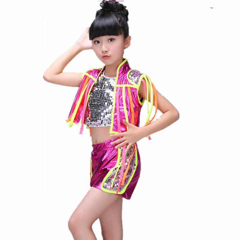 0b84d9d15839 Detail Feedback Questions about Girl kid dance Jazz costume blue ...