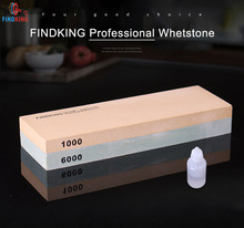 FINDKING brand 1000/6000 Grit Kitchen Knife Sharpener Professional Whetstone For High Quality Tools