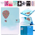 New Cute Painting Magnetic sleep Cover PU Leather Case for Samsung Galaxy Tab A 8.0 T350 T355 P355C P350 Tablet Flip Book Stand