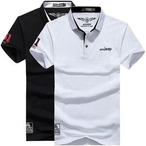 Image 1 - Polo de algodón de marca de alta calidad para hombre, camiseta informal lisa, camisa, polos para hombre