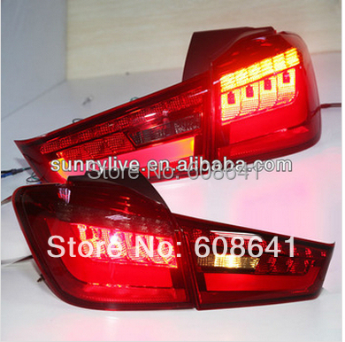 2012 2014 Year Outlander Sport ASX LED Rear Lamps Tail Light YZ V1