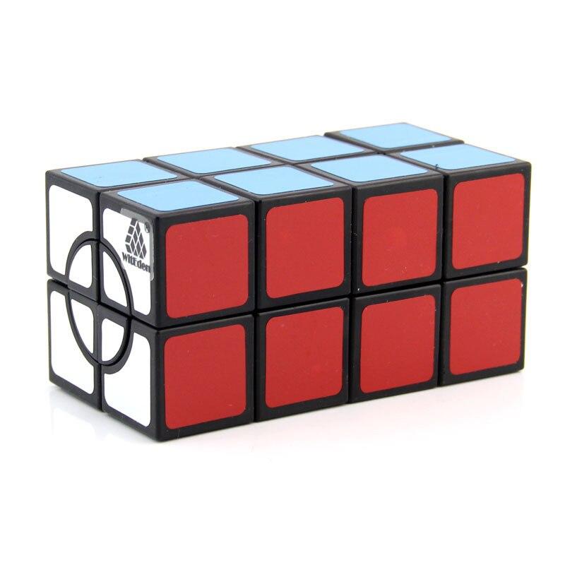 WitEden 2x2x4 Camouflage inégal Cube magique professionnel vitesse Puzzle jouets éducatifs 224 Cube cadeau pour enfants cubo magico