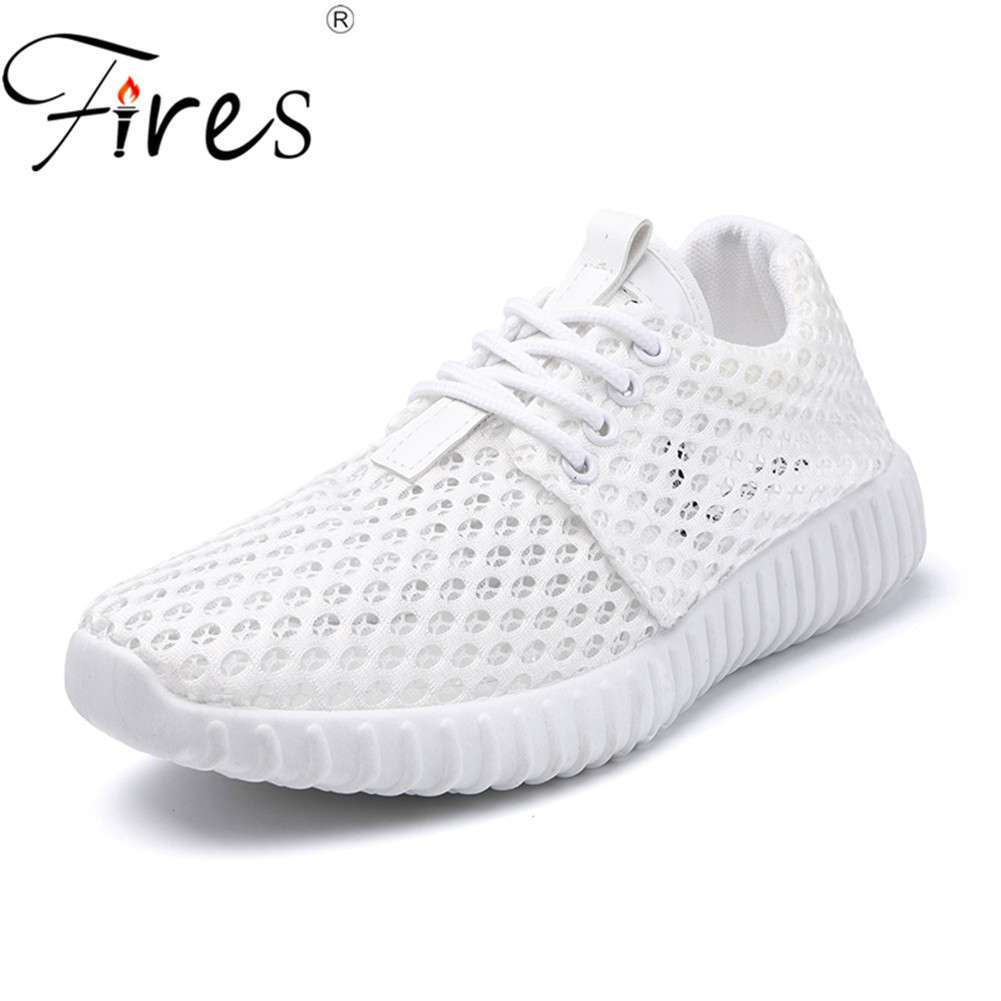 Fires Women Running Shoes Summer Sneakers  Mesh Brand Run Athletic Trainers Zapatillas Sports Shoe Outdoor Walking Sneakers