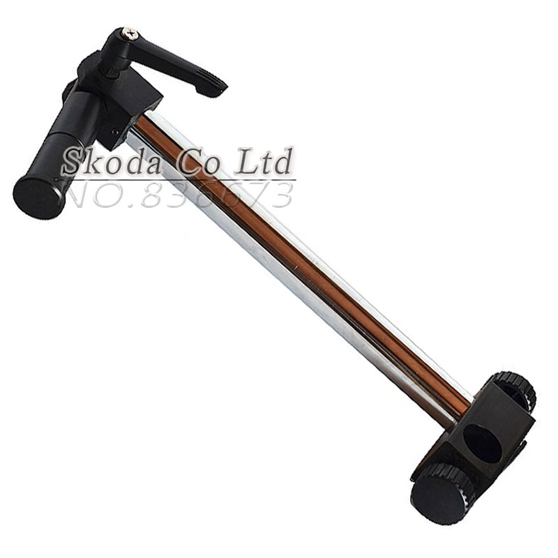 Diameter 25mm Heavy Duty Multi-axis Adjustable Metal Arm Support for Video Industry Microscope Table Stand Part Holder factory direct sale mini industry microscope stand lcd digital microscope camera arm holder size 40mm
