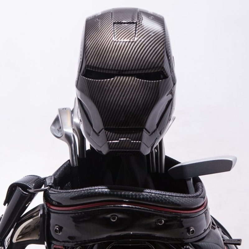 New golf club driver headcover protector covers Iron Man carbon fiber clubs covers free  ...