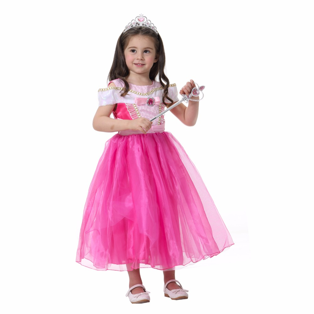 ZIKA Princess Dress 2017 Children Clothes Rose Red Princess Aurora Kids Cosplay Costume Masquerade Ball Gowns For Kid 3 12Y-in Dresses from Mother u0026 Kids on ...  sc 1 st  AliExpress.com & ZIKA Princess Dress 2017 Children Clothes Rose Red Princess Aurora ...