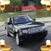 New Year Gift RR 1/18 Large Model Car Metal Vehicle SUV Car Front Decoration Alloy Luxury Present Men Collection Die cast Toys