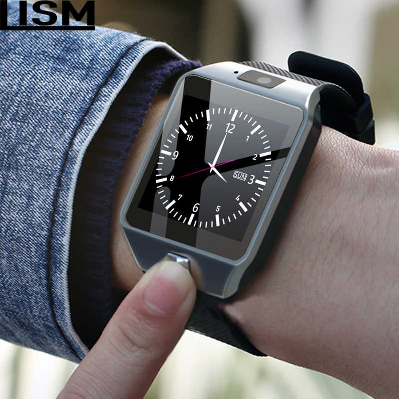 DZ09 Smartwatch Smart Watch Digital Men Watch For Apple iPhone Samsung Android Mobile Phone Bluetooth SIM TF Card Camera Reloj