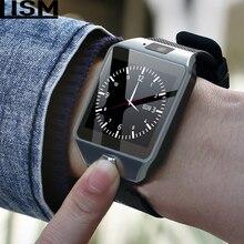 DZ09 Smartwatch Smart Watch Digital Men Watch For Apple iPhone Samsung Android Mobile Phone Bluetooth SIM TF Card Camera Reloj