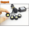 4X Car LED Strobe Eagle Eye with Wireless Remote For Mitsubishi ASX Lancer 10 9 Outlander Pajero For Suzuki Swift Grand Vitara S
