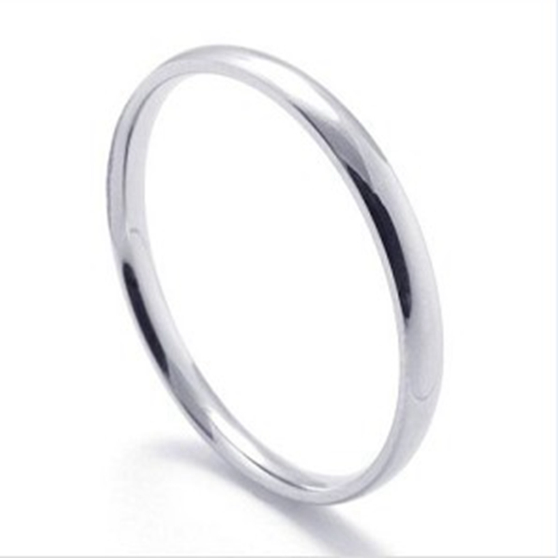 1pcs cheap stainless steel rings for women ladies bulk